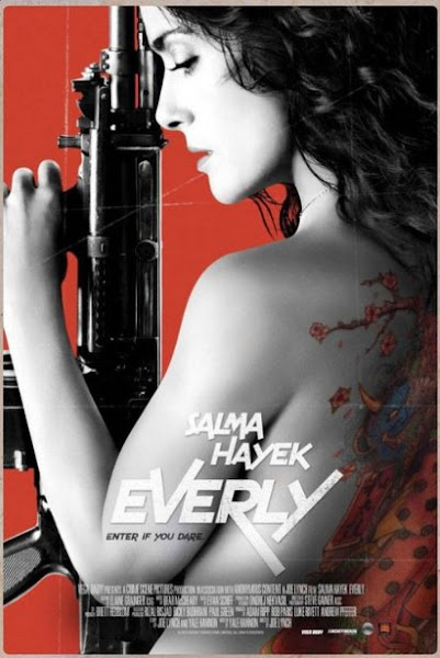 Poster of Everly 2014 720p BRRip Dual Audio