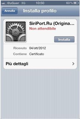 Install Siri