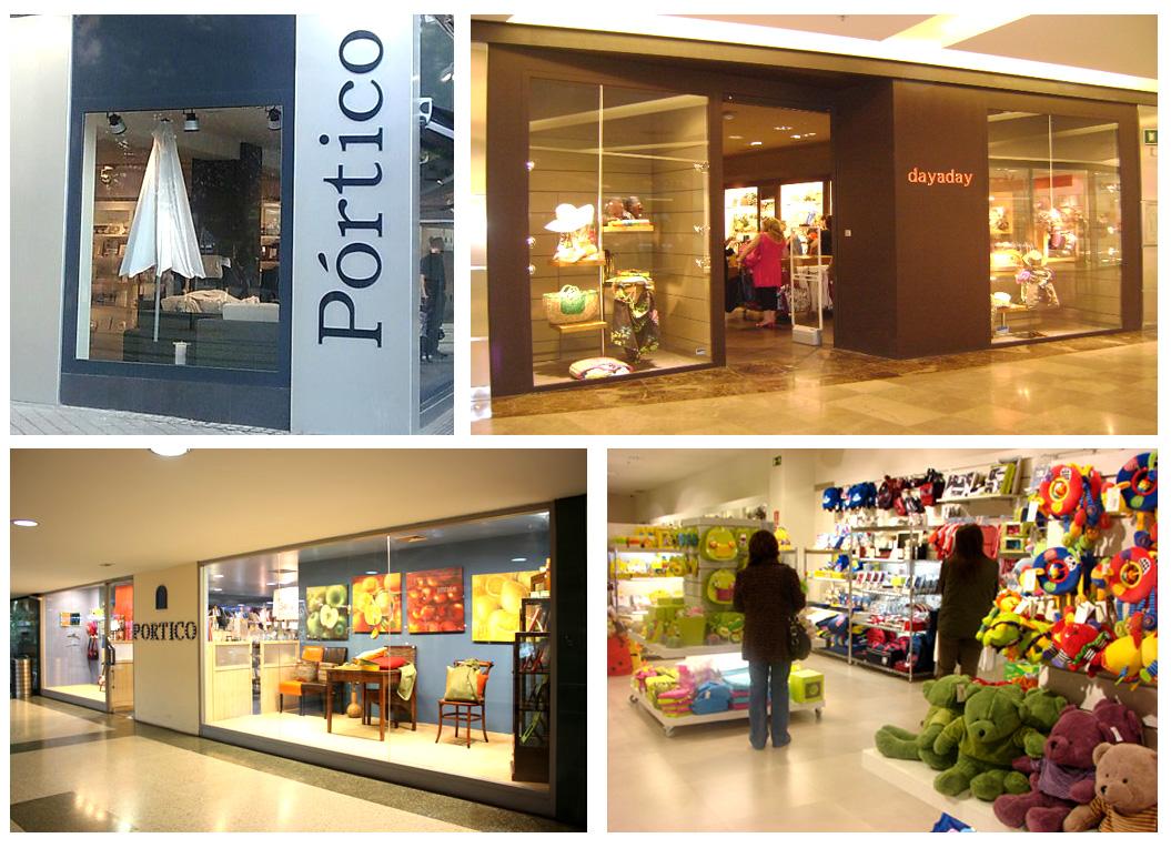 Empresas el grupo p rtico decora medio mundo for Portico muebles