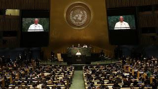 El papa Francisco en Naciones Unidas