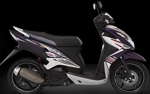 Yamaha Xeon RC Warna Ungu
