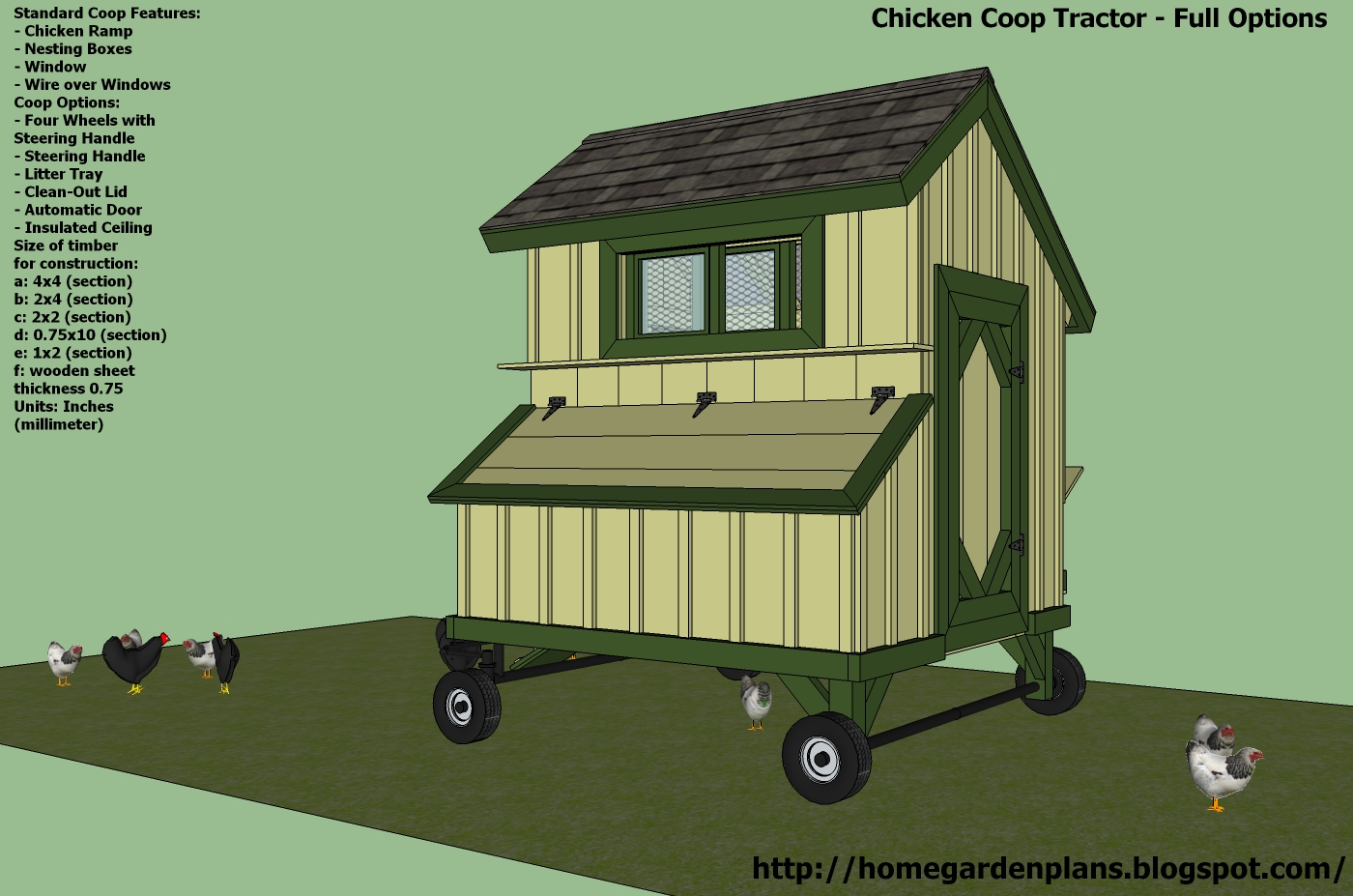 Learning k free chicken coop plans australia for Hen house design plans
