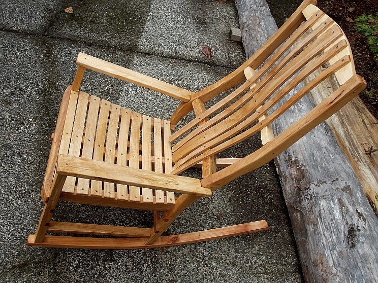 Hand Crafter Rocking Chair