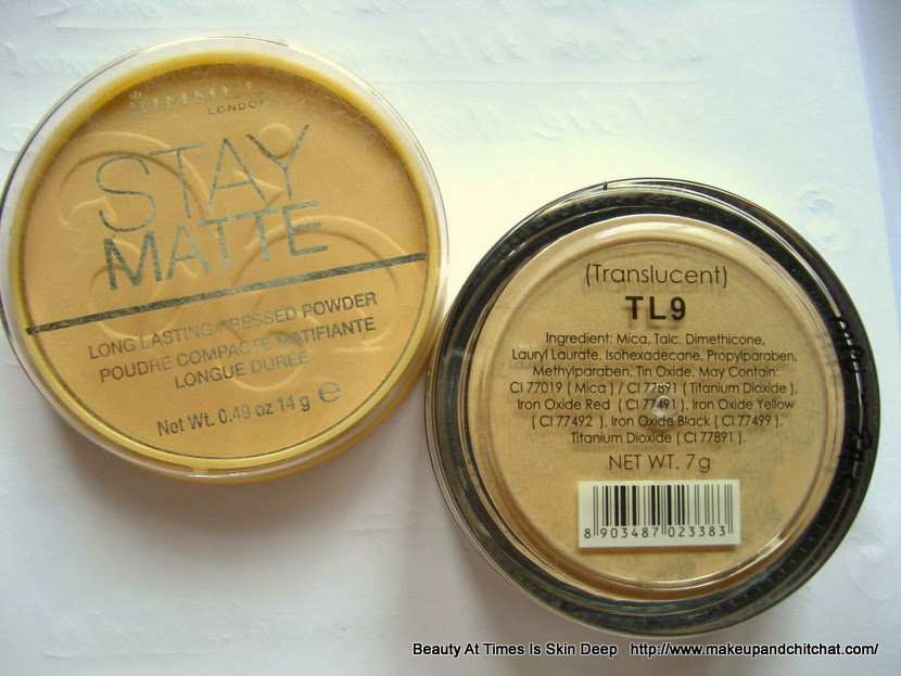Rimmel Stay Matte Compact| Miss Calire Loose powder