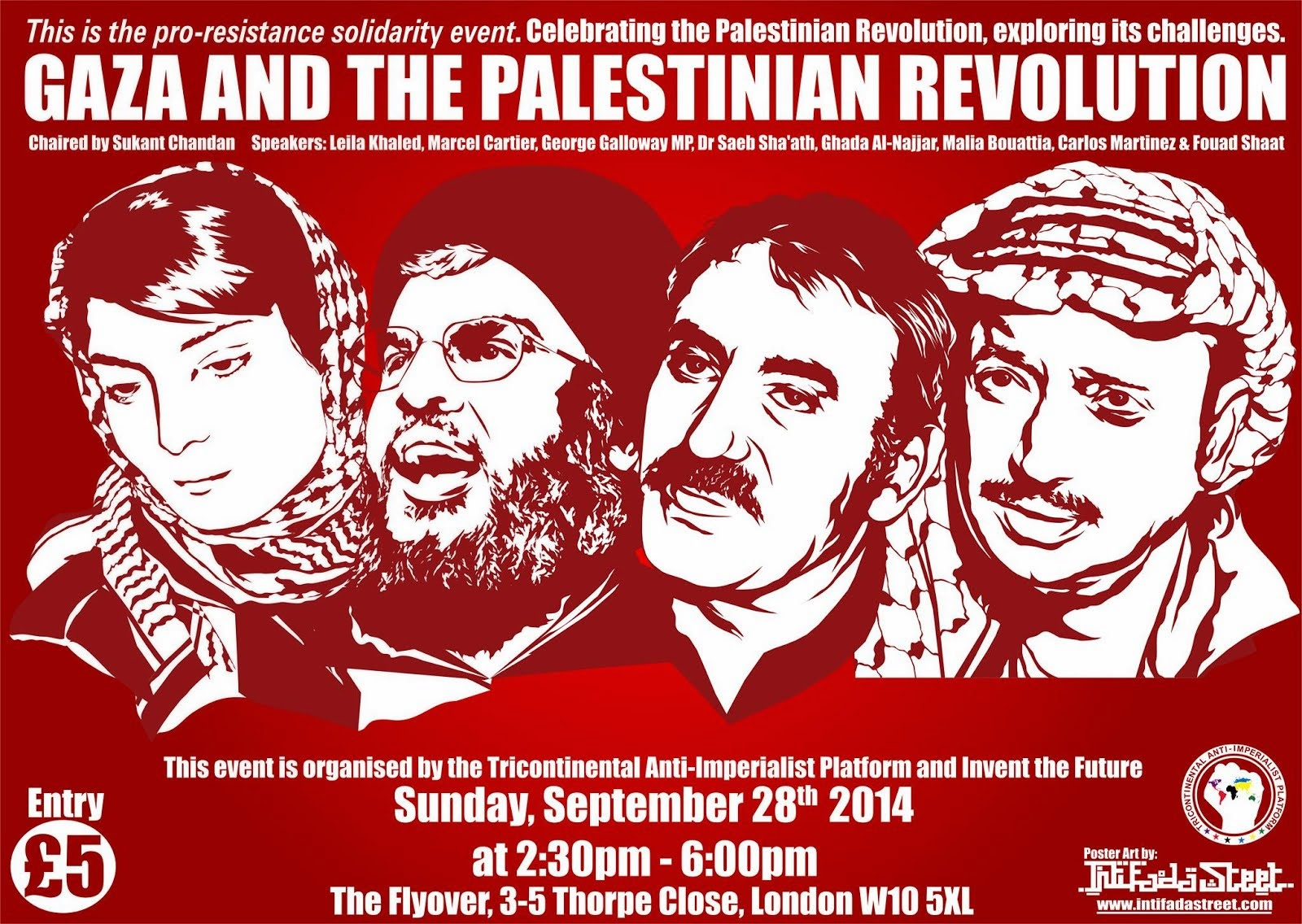 public event: GAZA & THE PALESTINIAN REVOLUTION