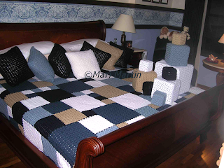 Style and Decor - Crochet Square Blanket