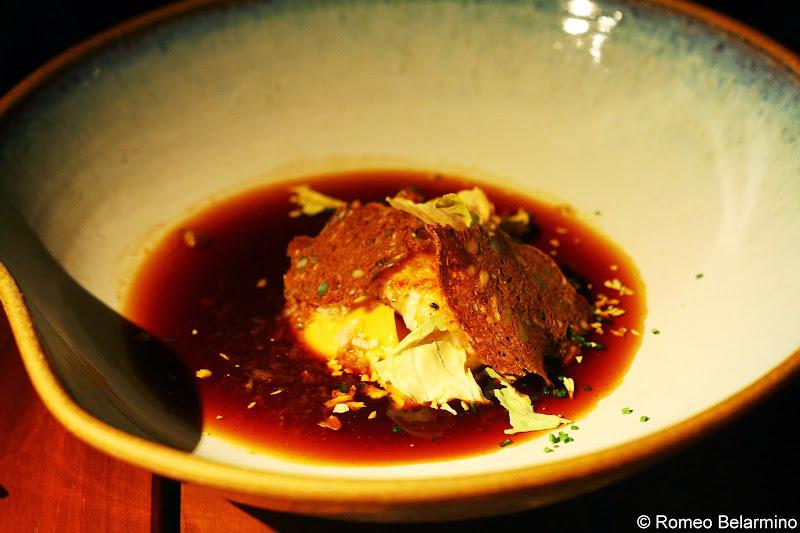 SK Mat & Människor Langoustine With Roasted Cabbage Bullion Gothenburg Michelin Star Restaurant