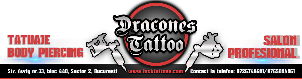 DRACONES TATTOO - Salon tatuaje bucuresti