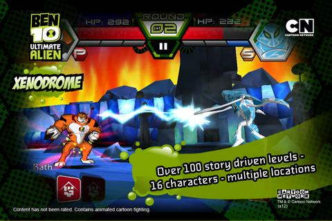 Android HD Games And Apps: Ben 10 Xenodrome Apk QVGA,HVGA,WVGA Armv6