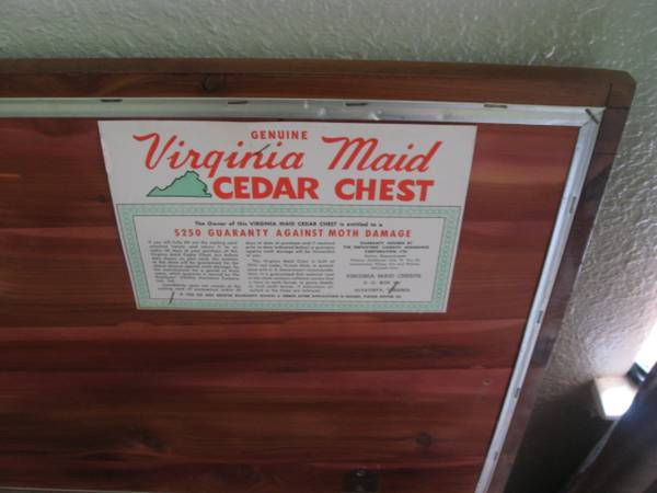 Does Anyone Recognize This Vintage Cedar Chest Or Know What Land Furniture  Line Itu0027s From? I Canu0027t Find Any Proof That A Lane Furniture Sculptra Line  Ever ...