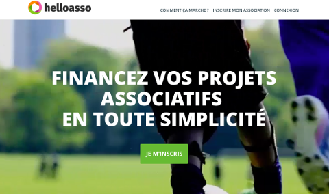 Accueil HelloAsso