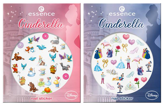 cinderella essence stickers unghie