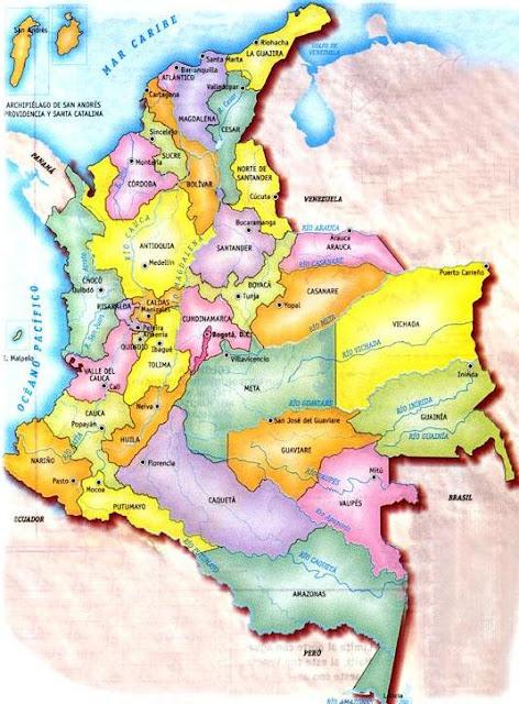 mapas de colombia