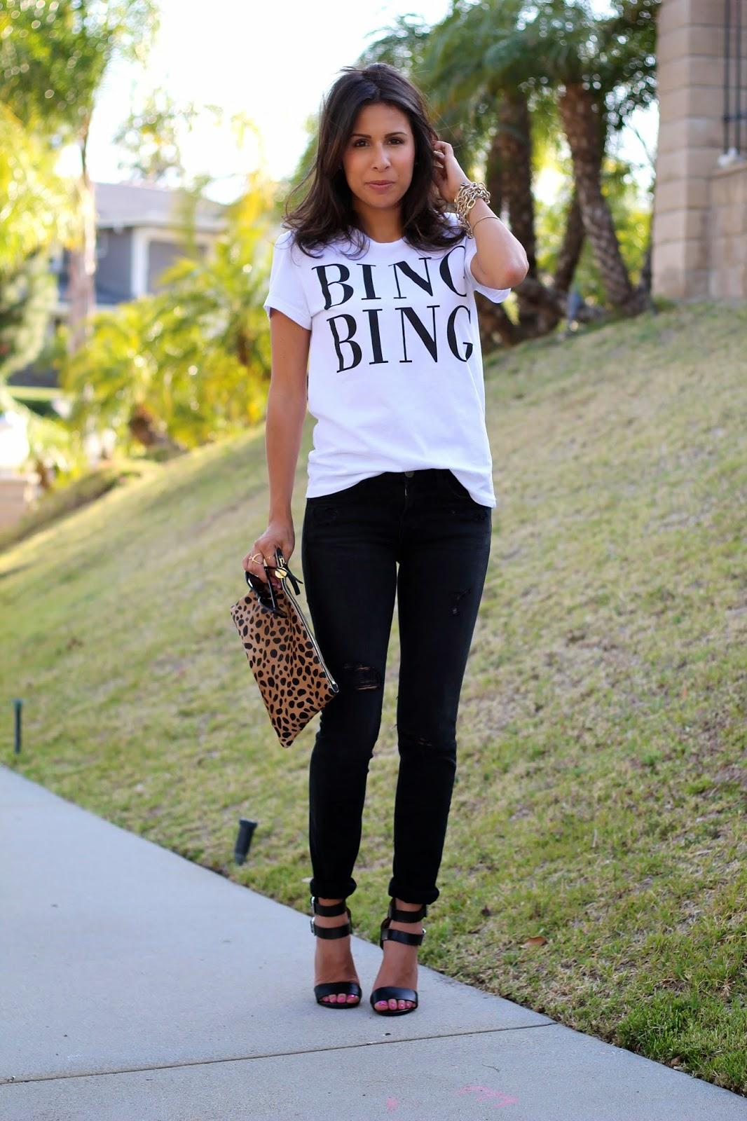 bing bing shirt current elliott skinnies