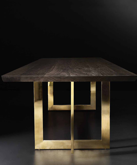 The Style Saloniste Whats Truly Modern And Exciting Now - Rh modern dining table