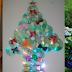Meio Ambiente: Fazendo uma árvore de Natal com material reciclado