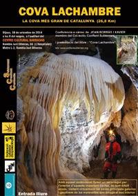 Presentació Cova Lachambre