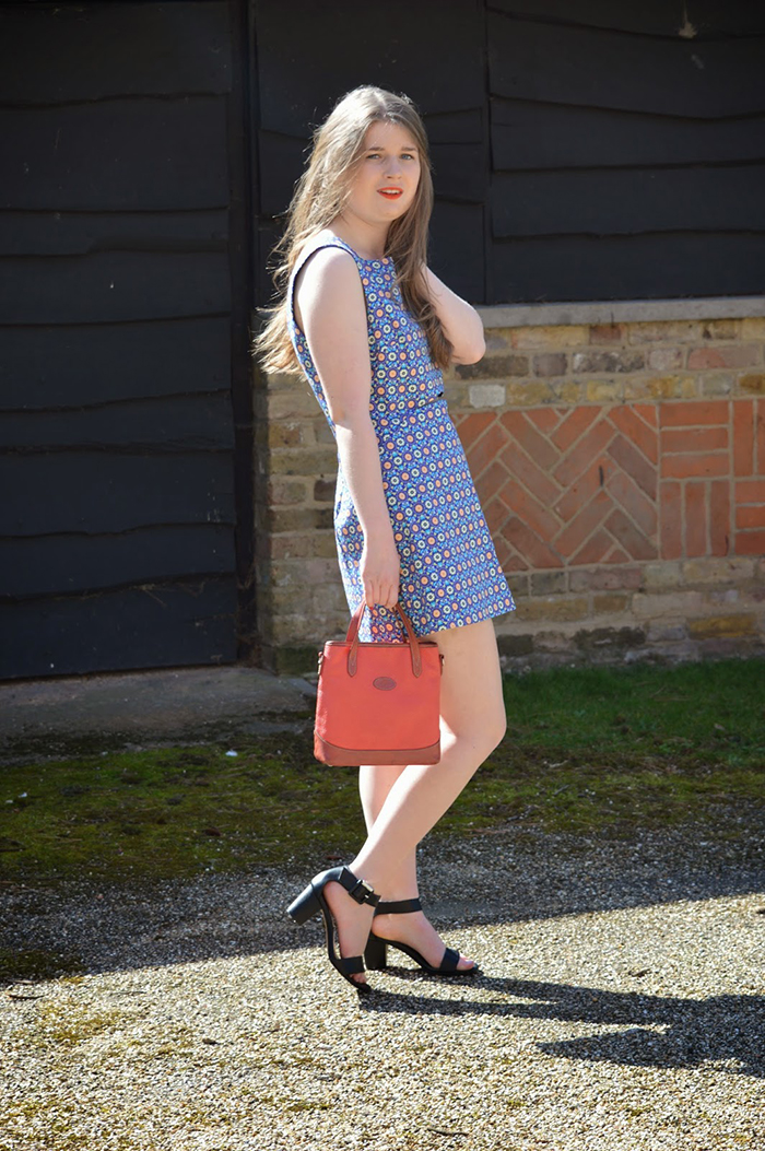 Zara 70's inspired playsuit fashion blogger