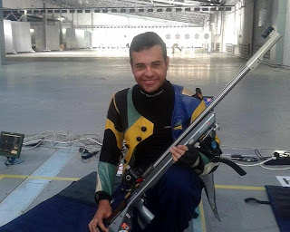 Bruno Lion Heck (BRA) - Carabina Deitado - Tiro Esportivo - Universíade 2013
