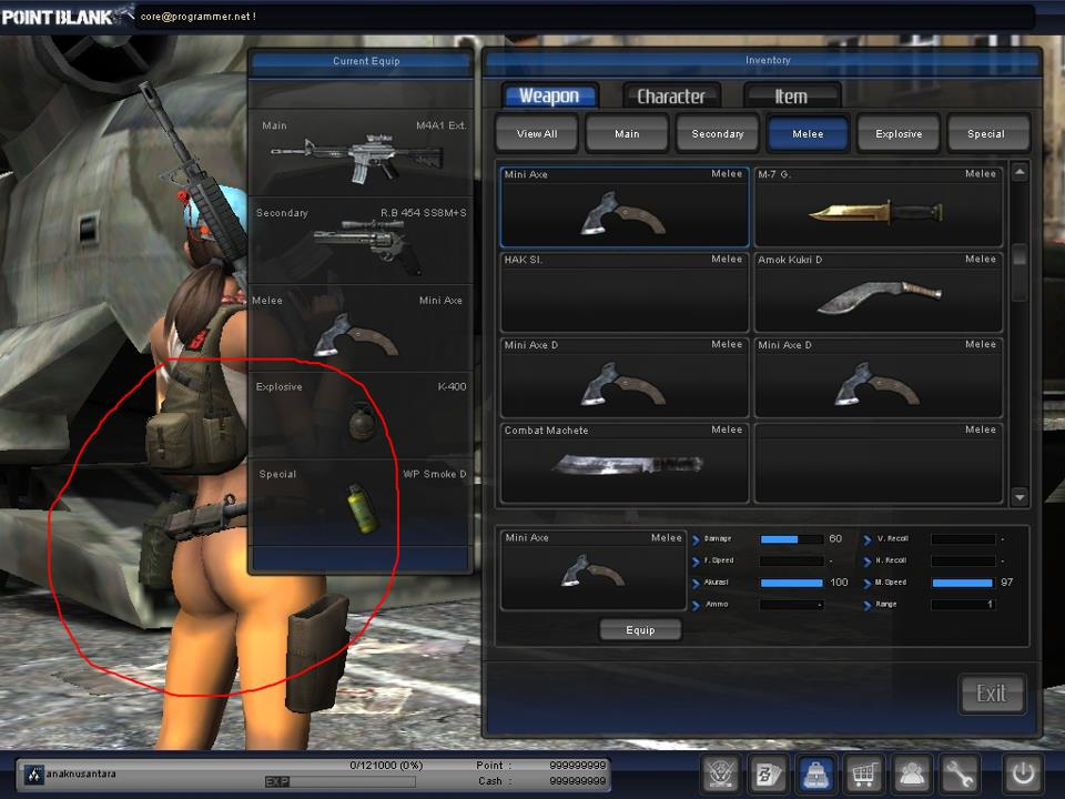 Tutorial Point Blank Offline  Eps Cara Edit Skin Senjata Di PB