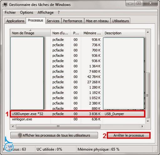 برنامج USB Dumper لنسخ الملفات من الفلاش ميمورى بطريقة مخفية