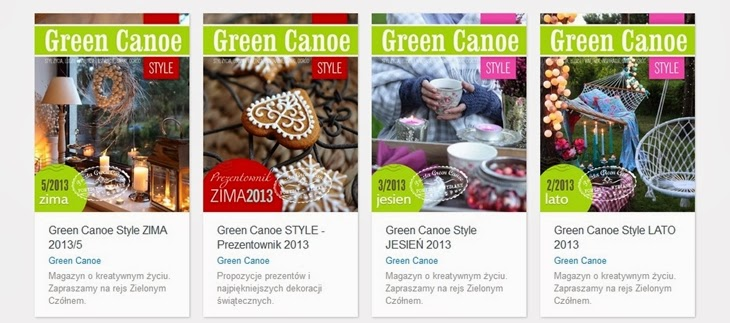 http://issuu.com/greencanoe