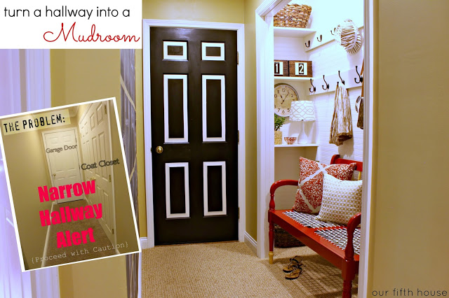 Back to School Organization - Create a Mudroom Space