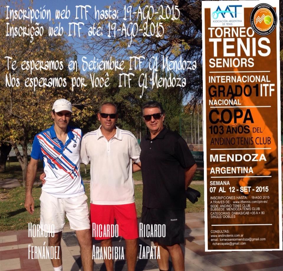 ITF SENIORS G1 COPA 103 AÑOS ANDINO TENIS CLUB