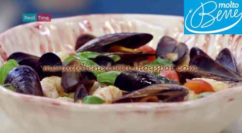 Panzanella di mare ricetta Parodi per Molto Bene
