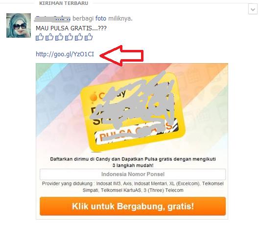 warning modus spam