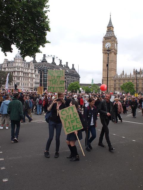20/06/15 Anti-austerity demo, London