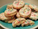 Glazed Funfetti Cookies