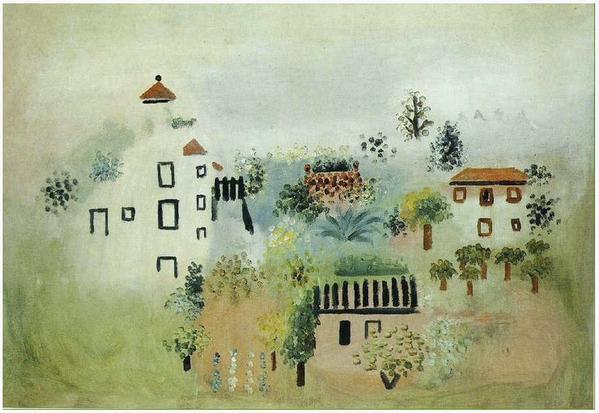 Picasso - Landscape 1928