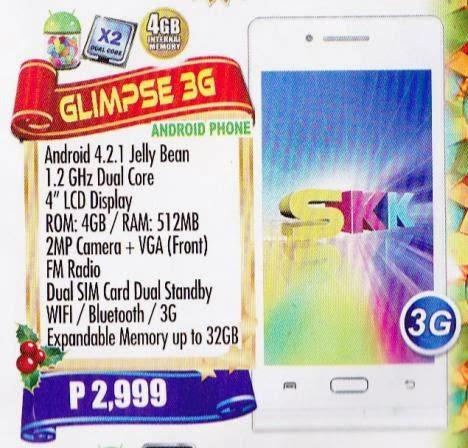 SKK Mobile Glimpse 3G