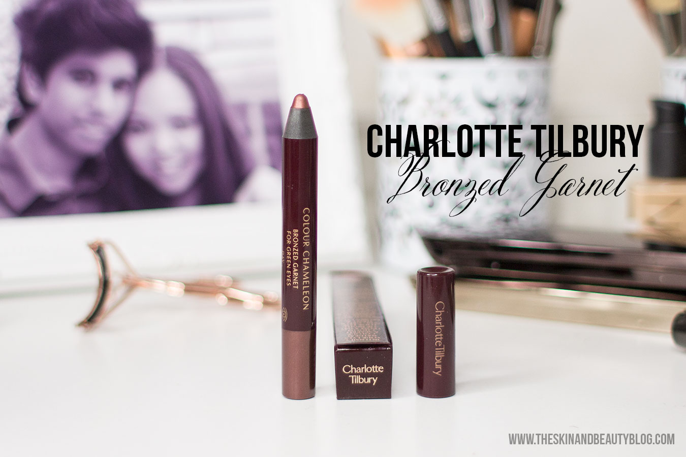 Charlotte Tilbury Colour Chameleon in Bronzed Garnet Review, Swatches