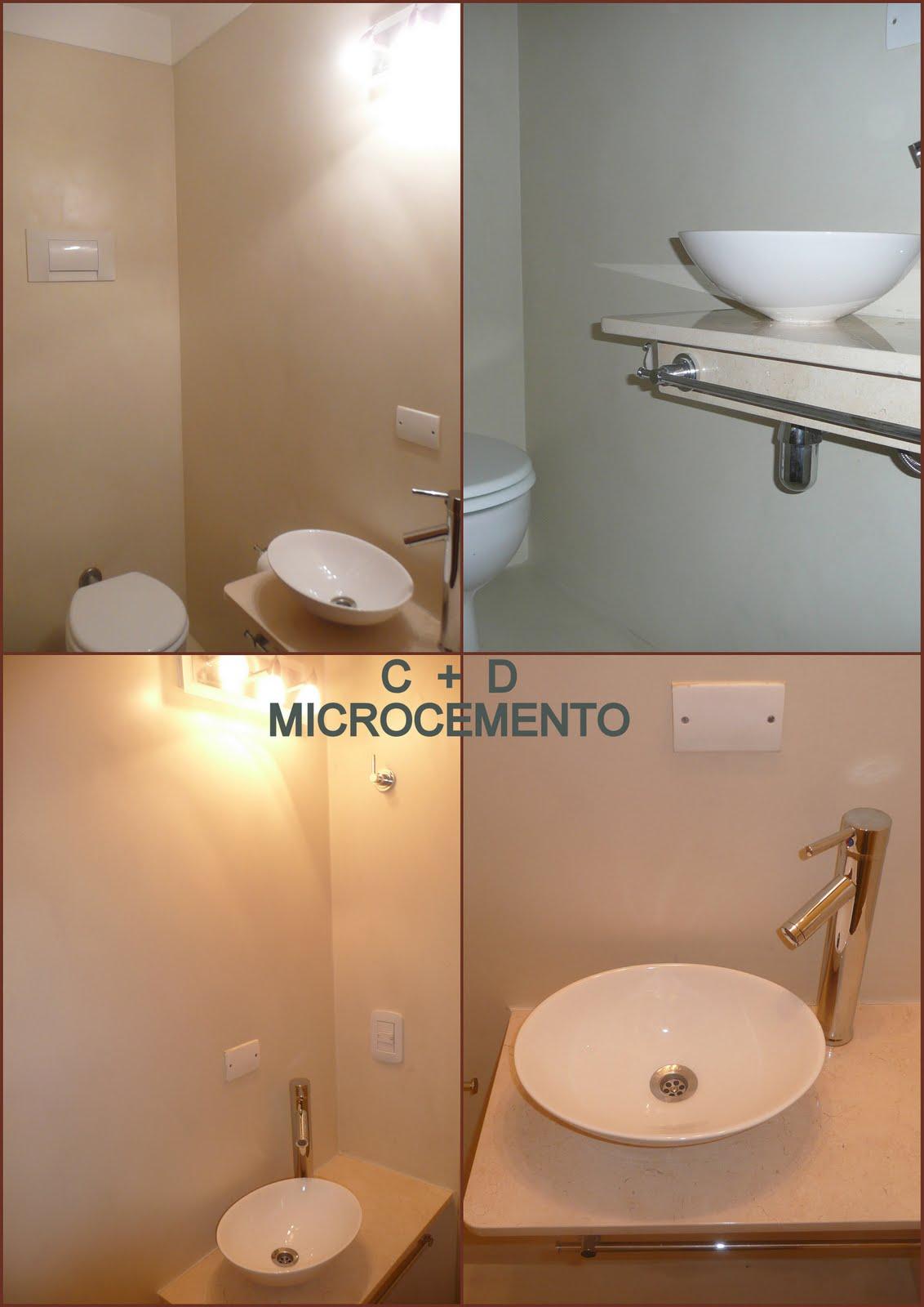 Bachas Para Baño Pequeno:CONSTRUCCION + DISEÑO: RECICLAJE DE TOILETTE – MICROCEMENTO