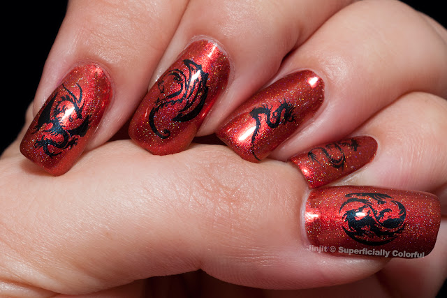 Takko Lacquer Va Va Voom MoYou Nails Stamping Plates
