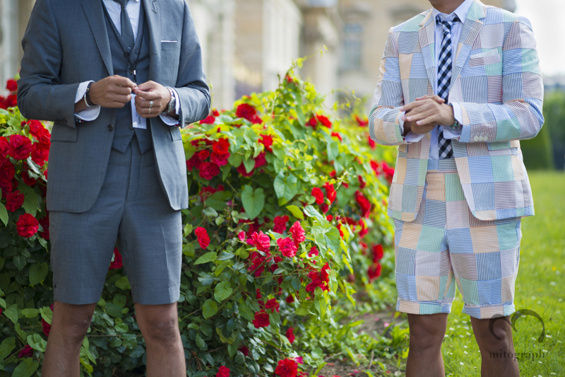 mitograph Before Thom Browne New York Paris Mens Fashion Week 2014 Spring Summer PFW Street Style Shimpei Mito
