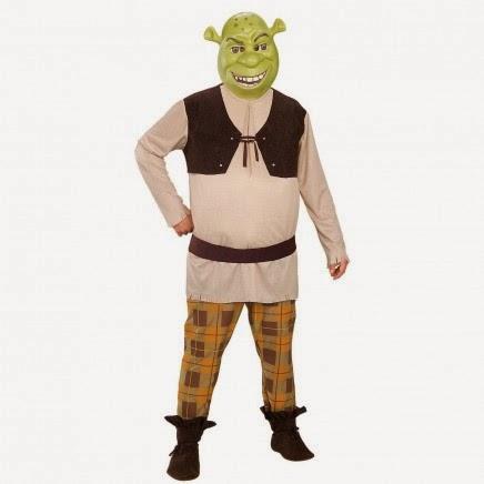Disfraz de Ogro Shrek