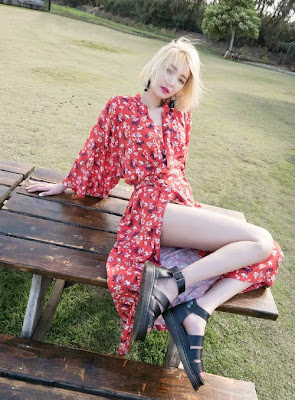 Go Joon Hee InStyle Magazine June Issue 2015