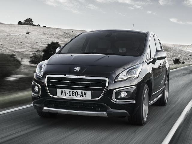 novo Peugeot 3008 2014 frente
