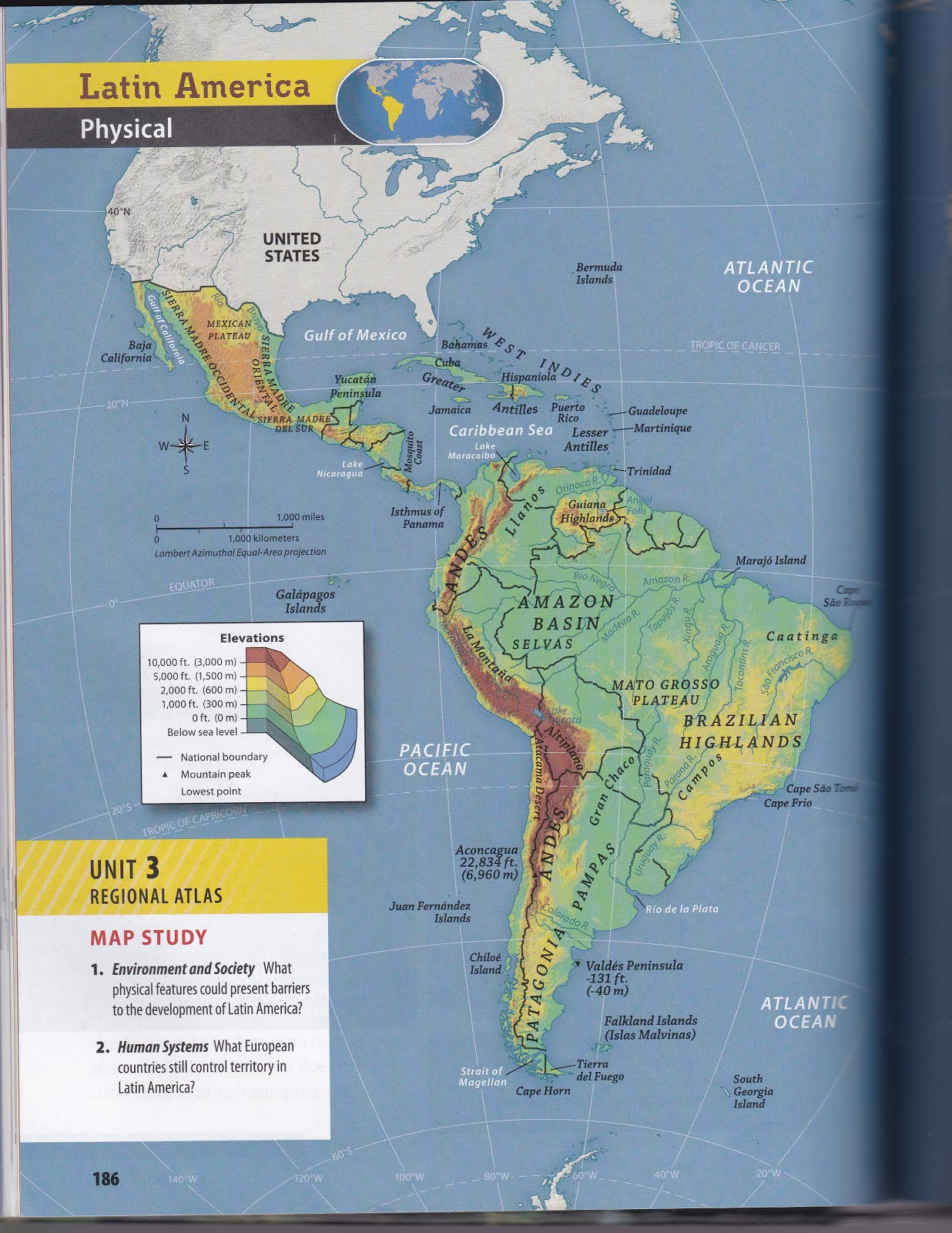 latin america mapping lab part 1 and 2