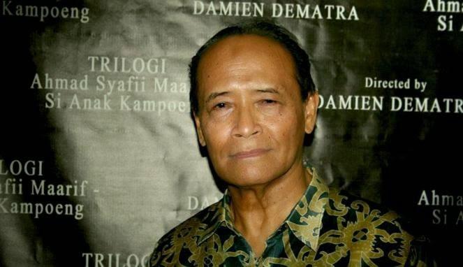 Buya Syafii, Muhammadiyah, dan Jokowi