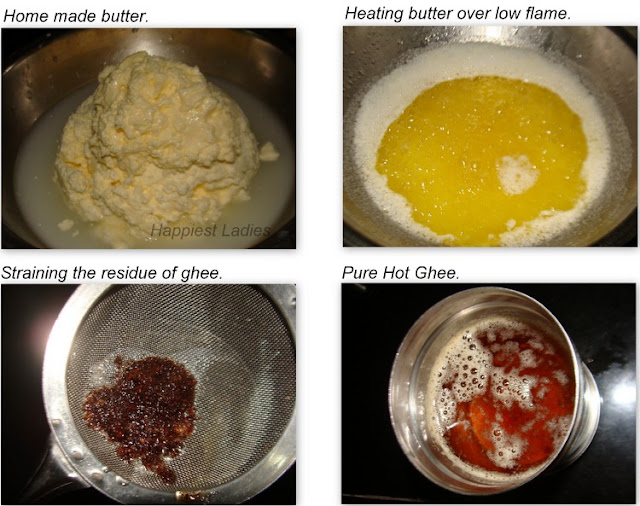 How to make ghee+butter churn+ghee butter