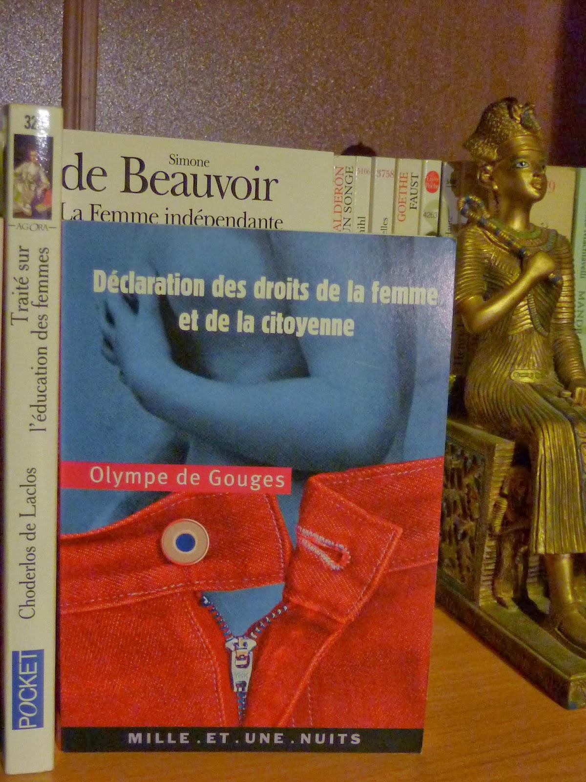 Déclaration des droits de la femme et de la citoyenne - Olympe de Gouges