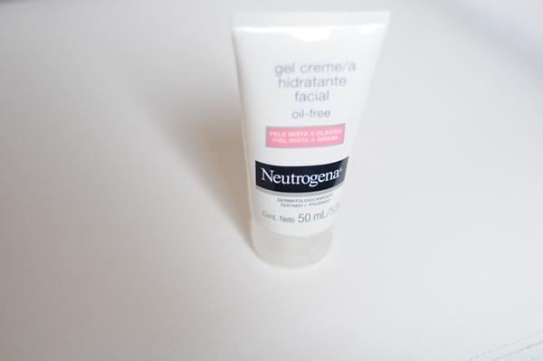 Gel Creme Hidratante Facial da Neutrogena
