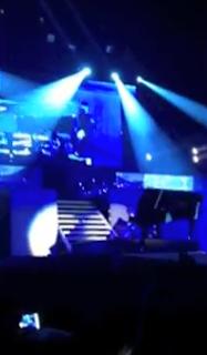 Justin Bieber atacado durante concerto