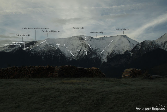 Widok na Zadnie Jatki
