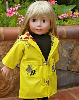 18 inch doll clothes by Harmony Club Dolls. Fits 18 inch Dolls and American Girl.