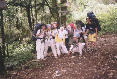 Pendakian Ciremai via Jalur Apuy